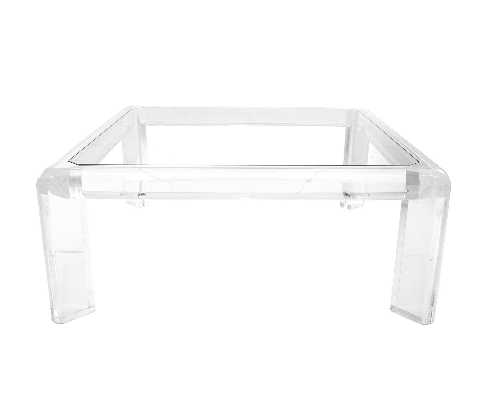 Acrylic Coffee Tables Square Table - Tadalafilcanada with regard to Modern Acrylic Coffee Tables (Image 5 of 30)