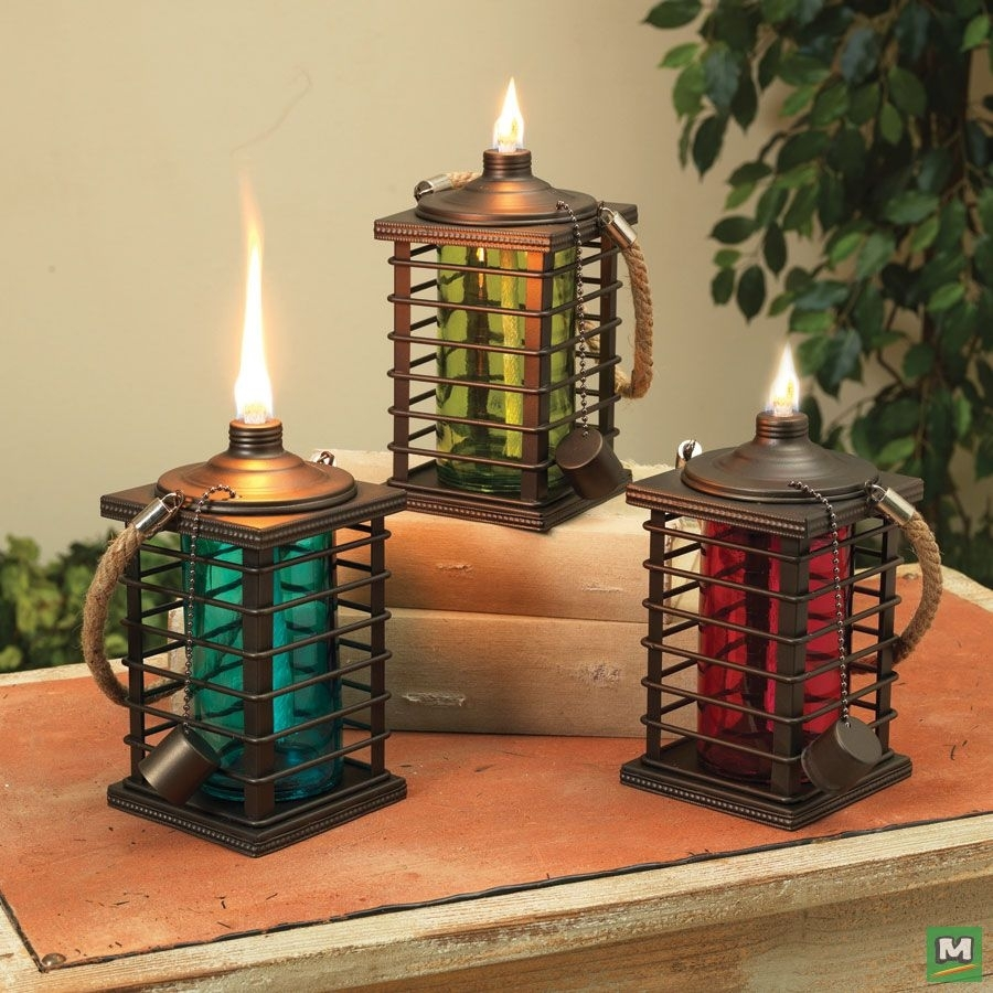 Add Additional Lighting To Your Outdoor Living Space With Enchanted In Red Outdoor Table Lanterns (View 3 of 20)