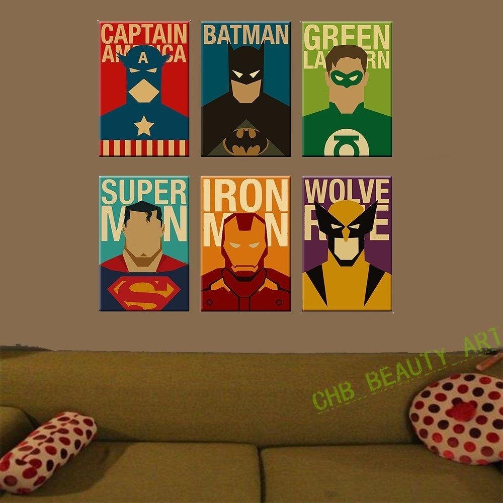 Afcccffabdbc Good Superhero Wall Decor – Home Design And Wall Inside Superhero Wall Art (View 3 of 20)