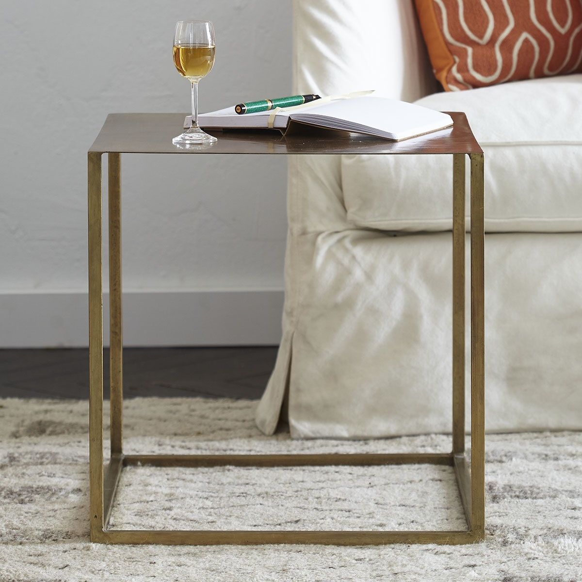 Featured Photo of Aged Iron Cube Tables