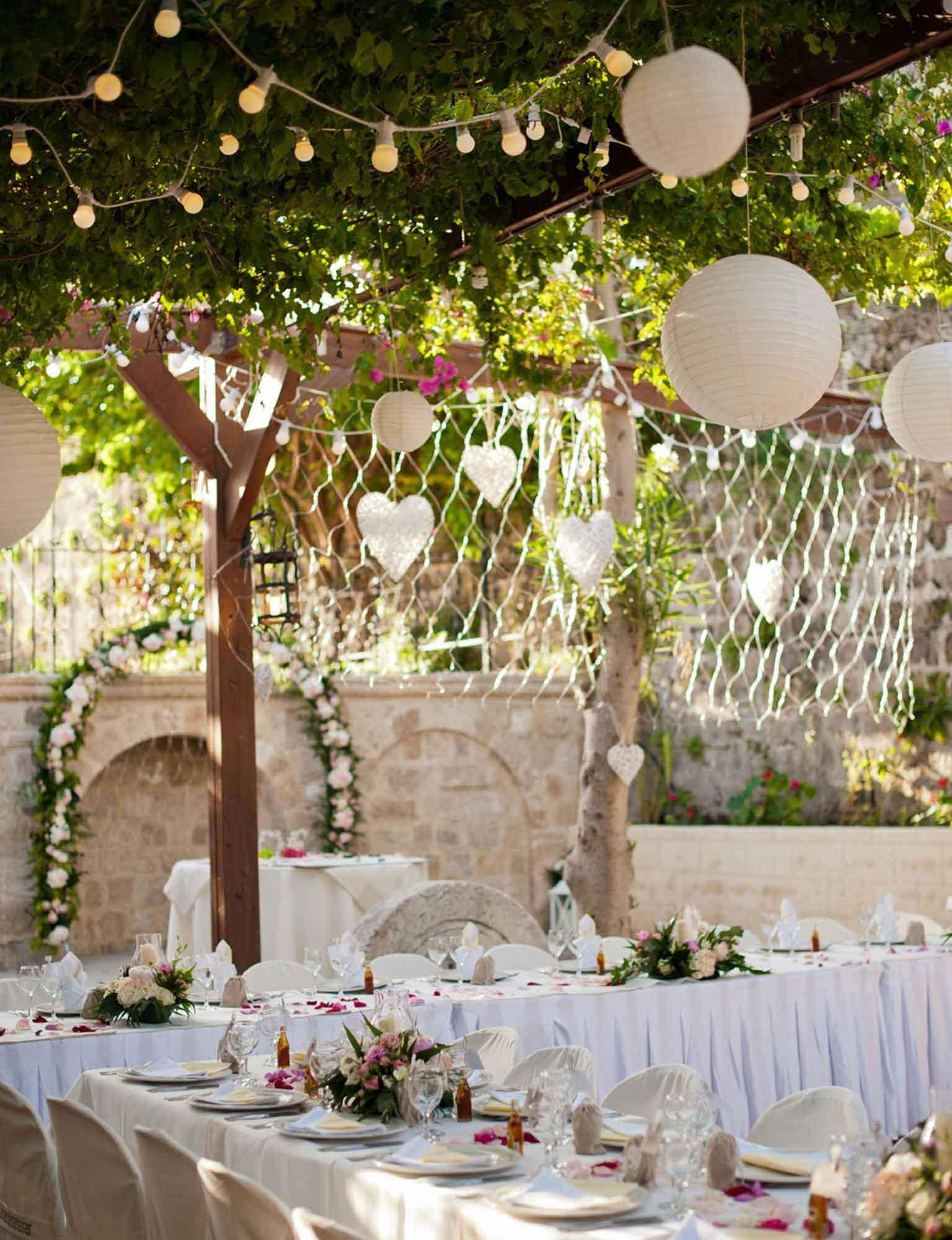 Alfresco Wedding Light Ideas | Wedding Light Ideas | Inspiration Regarding Outdoor Lanterns For Wedding (View 2 of 20)