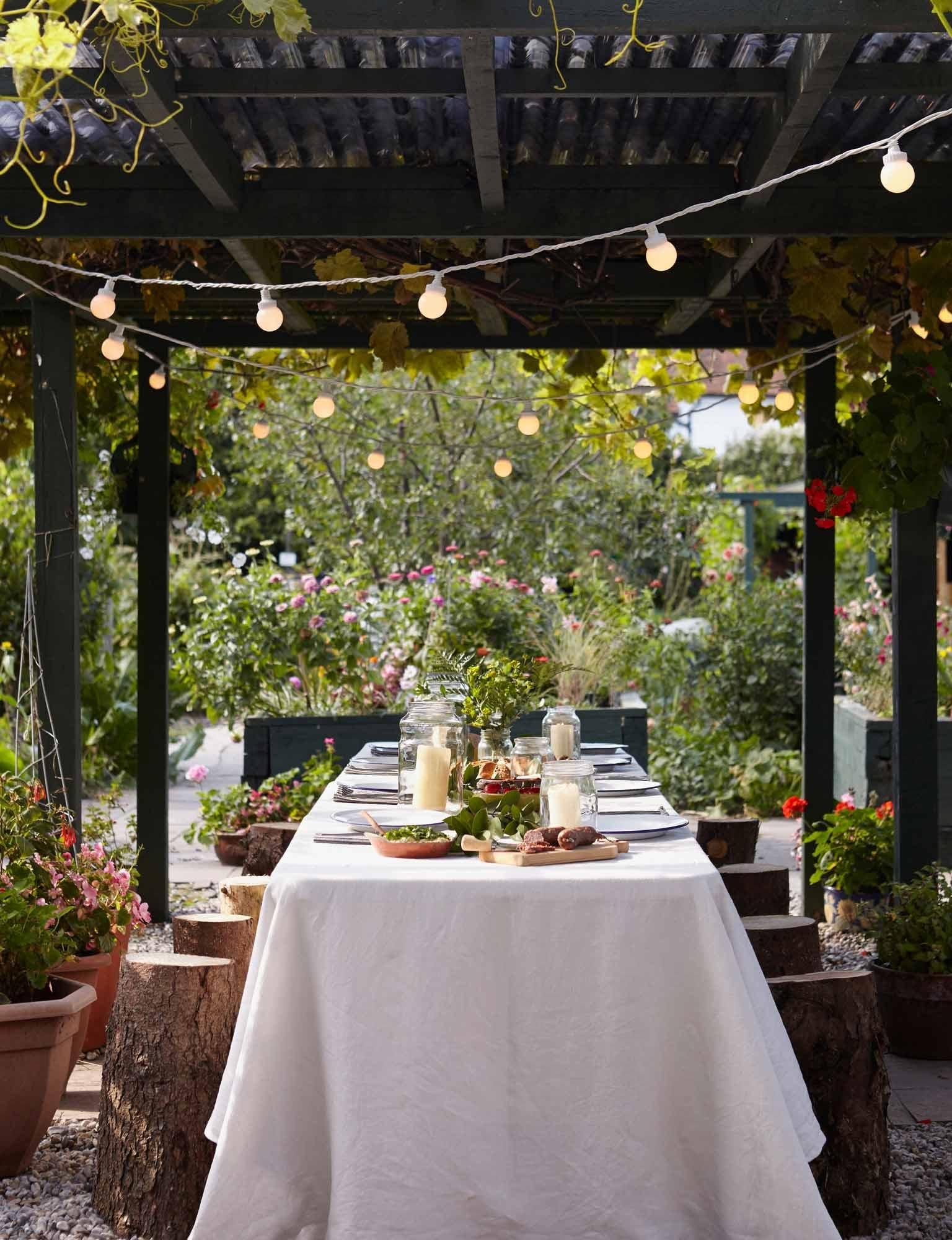 Alfresco Wedding Light Ideas | Wedding Light Ideas | Inspiration Throughout Outdoor Lanterns For Wedding (View 3 of 20)