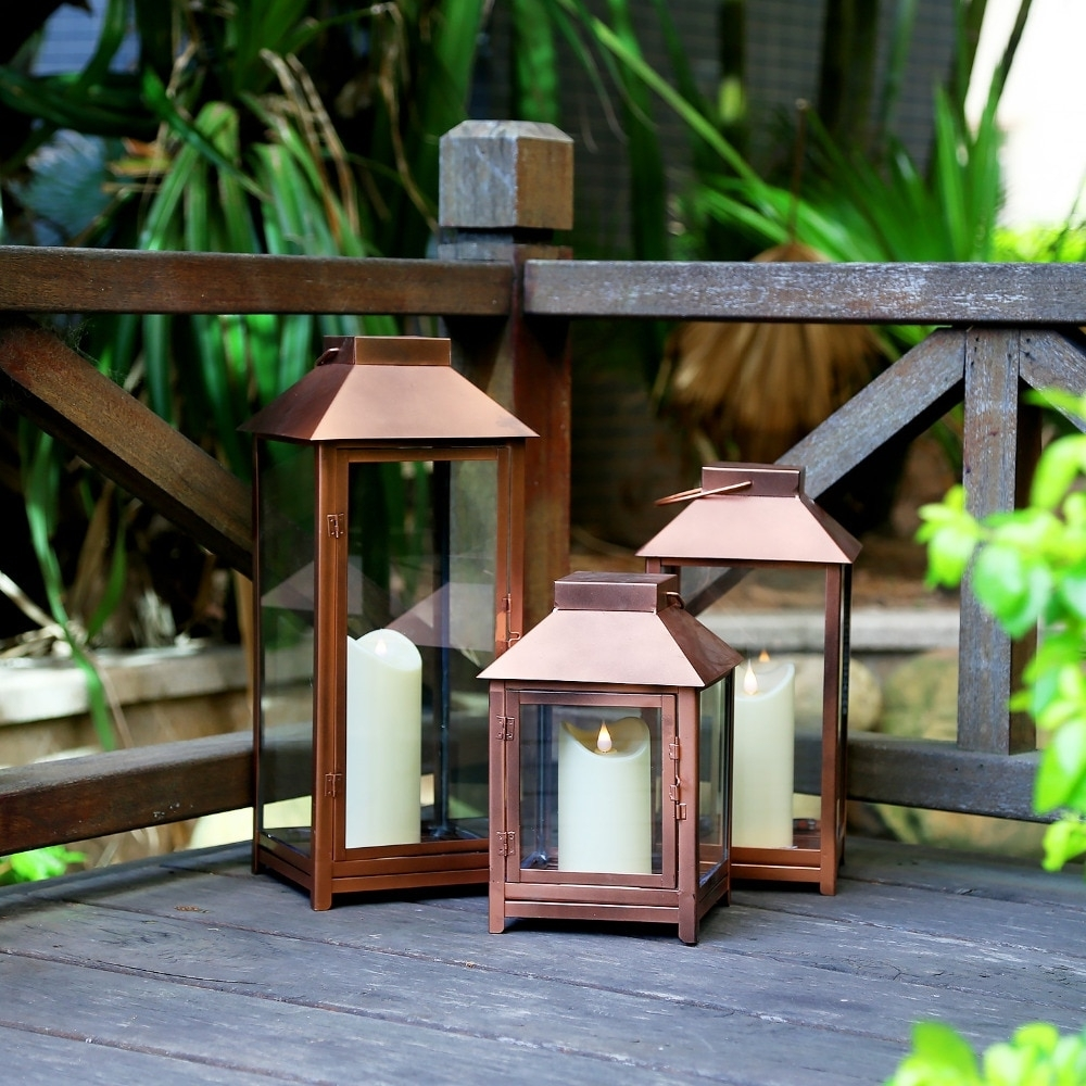 Aliexpress : Buy Giveu Big Lantern Set Of 3 Indoor And Outdoor with Outdoor Big Lanterns (Image 3 of 20)