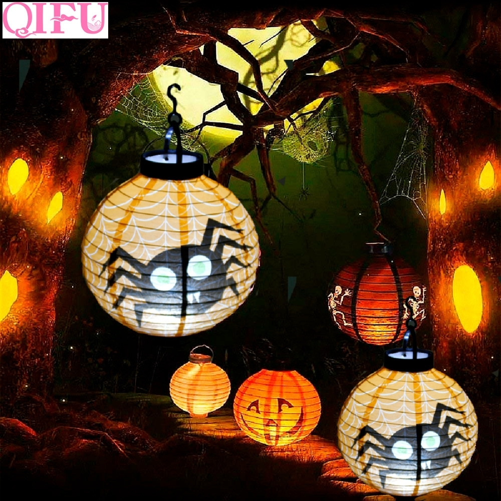 Aliexpress : Buy Qifu Battery Lantern With Light Pumpkin With Regard To Outdoor Paper Lanterns (View 1 of 20)
