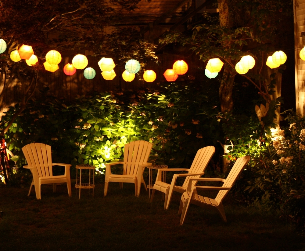 Allen Roth Outdoor Umbrella Lights : Life On The Move - Led Outdoor regarding Outdoor Umbrella Lanterns (Image 2 of 20)