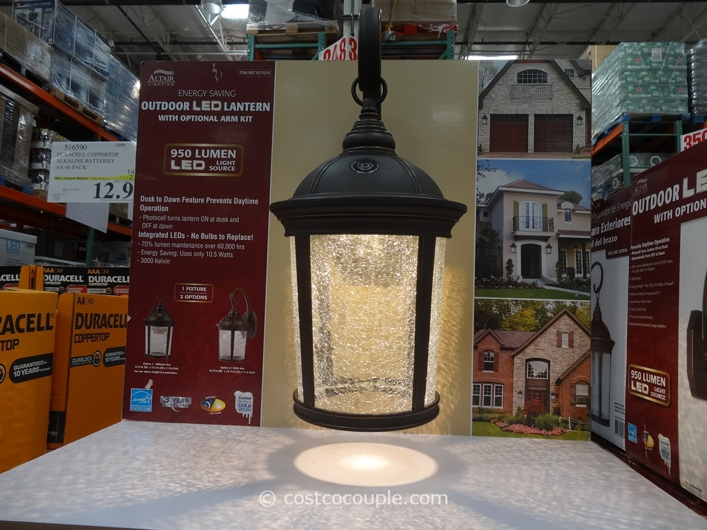 Altair Outdoor Led Lantern For Outdoor Lanterns At Costco (View 3 of 20)