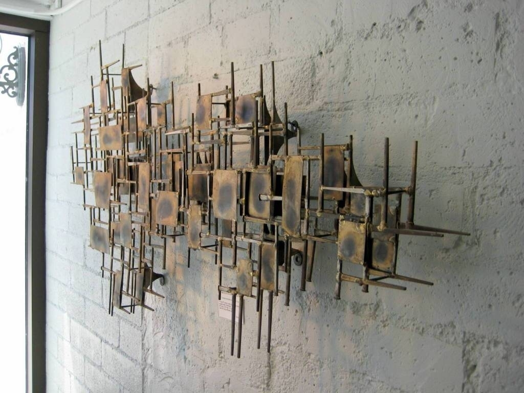 Amazing Mid Century Modern Wall Art Mid Century Modern Wall Art In regarding Modern Metal Wall Art (Image 2 of 20)