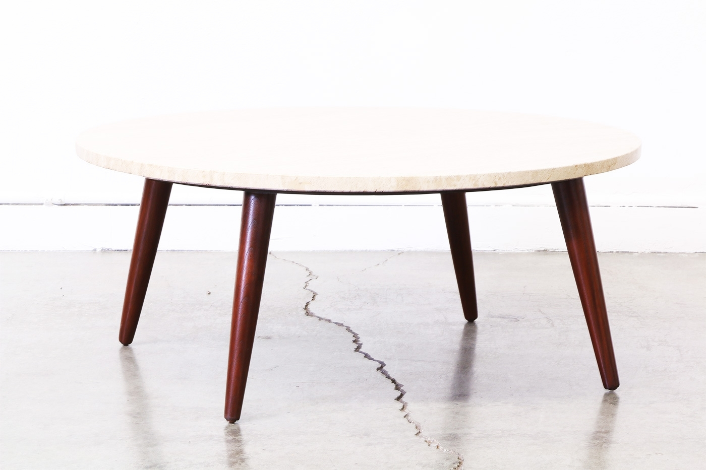 Amazing Mid Century Round Coffee Table Of Mode #64821 | Forazhouse in Mid-Century Modern Marble Coffee Tables (Image 1 of 30)