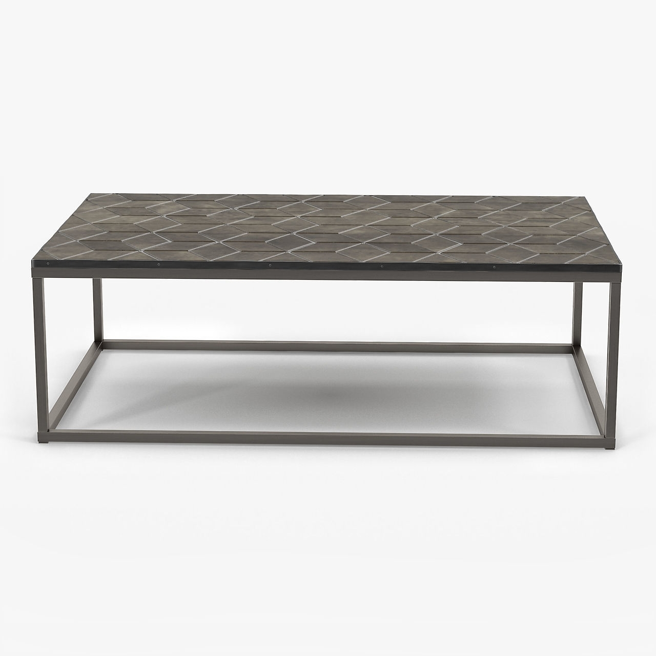Amazing Parquet Coffee Table With Restoration Hardware Metall inside Parquet Coffee Tables (Image 4 of 30)