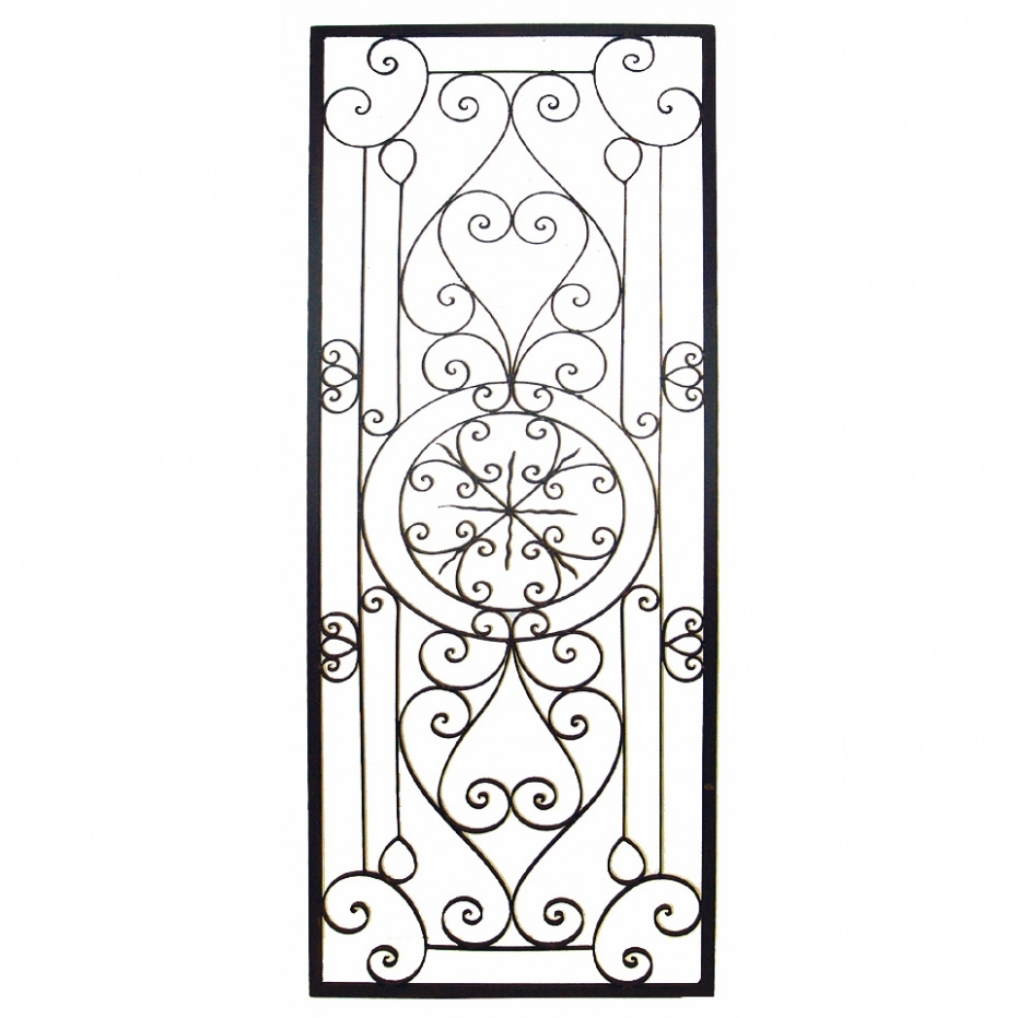 Amazing Wrought Iron Monogram Wall Decor Wall Art Ideas Design Hang In Wrought Iron Wall Art (View 16 of 20)