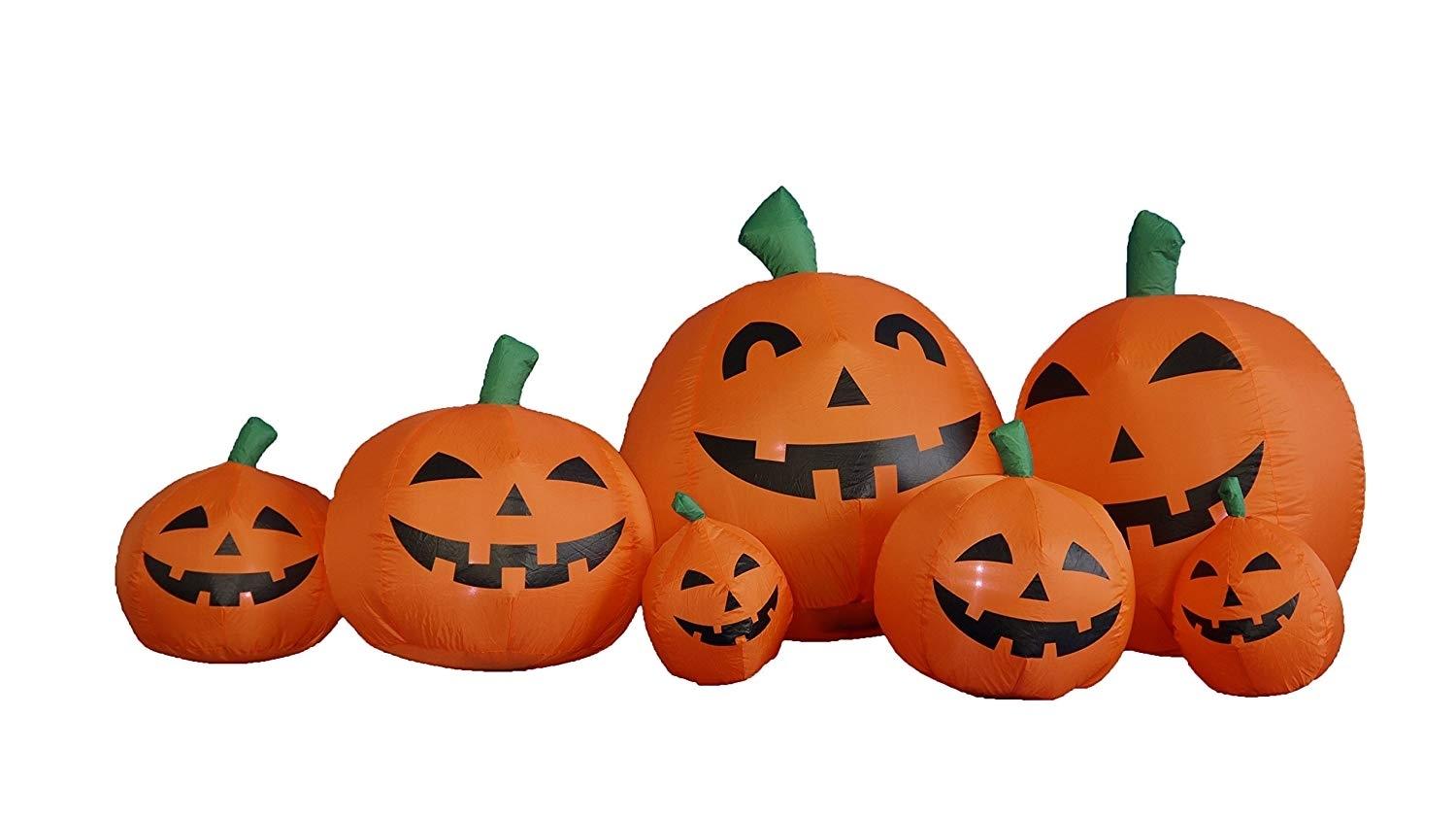 Amazon: 7.5 Foot Long Inflatable Halloween Pumpkins: Garden with regard to Outdoor Pumpkin Lanterns (Image 6 of 20)