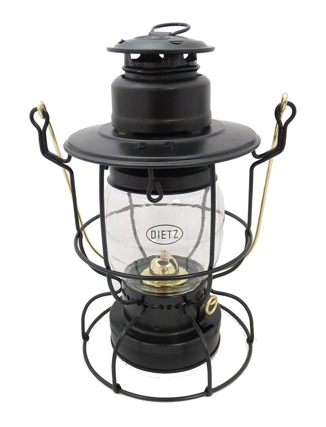 Amazon : Dietz Watchman Railroad Lantern : Garden & Outdoor inside Outdoor Railroad Lanterns (Image 1 of 20)