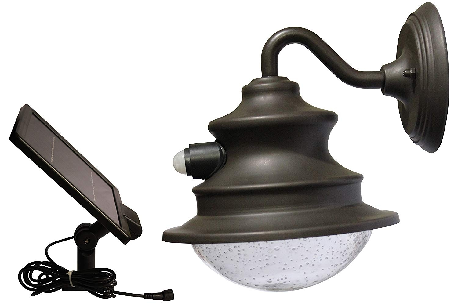 Amazon : Gama Sonic Solar Barn Light With Motion Sensor Gs-122 intended for Xl Outdoor Lanterns (Image 2 of 20)