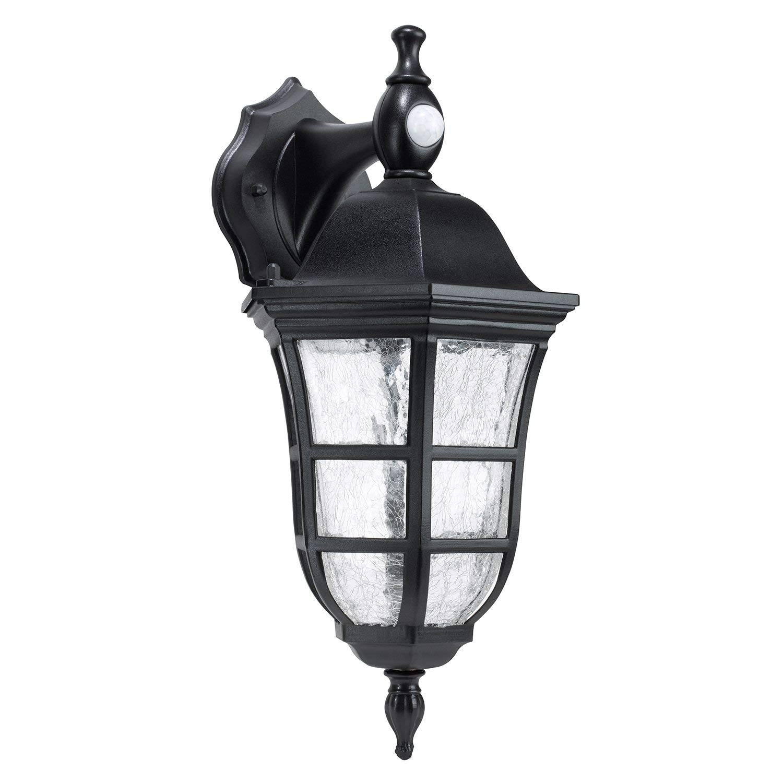 Amazon : Honeywell Outdoor Pir Lantern : Garden & Outdoor for Outdoor Lanterns With Pir (Image 3 of 20)