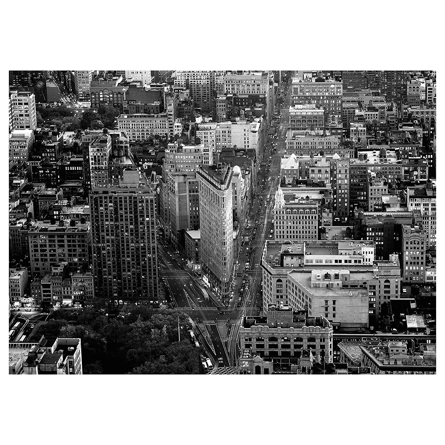 Amazon: Ikea Premiär Picture, Flatiron Building, New York With New York Canvas Wall Art (View 17 of 20)