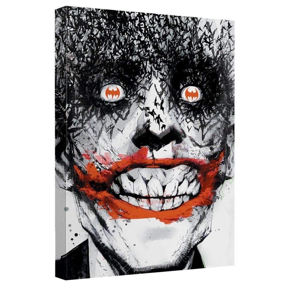 "Amazon: Joker Canvas Wall Art | Joker Bats (8"" X 12""): Posters intended for Joker Wall Art (Image 4 of 20)"