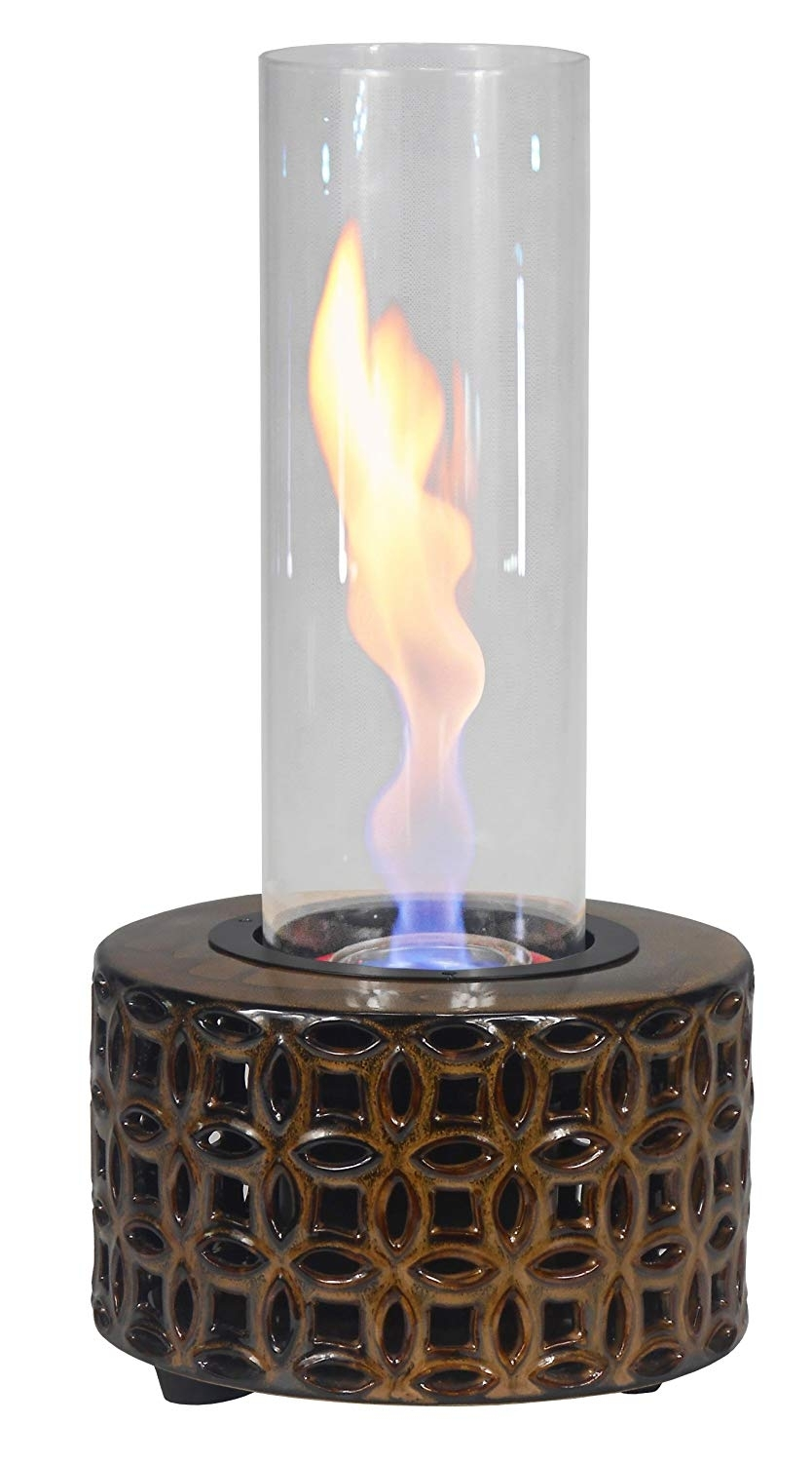 Amazon : Outdoozie Hurriflame Sierra Vortex Table Top Outdoor in Outdoor Gel Lanterns (Image 2 of 20)