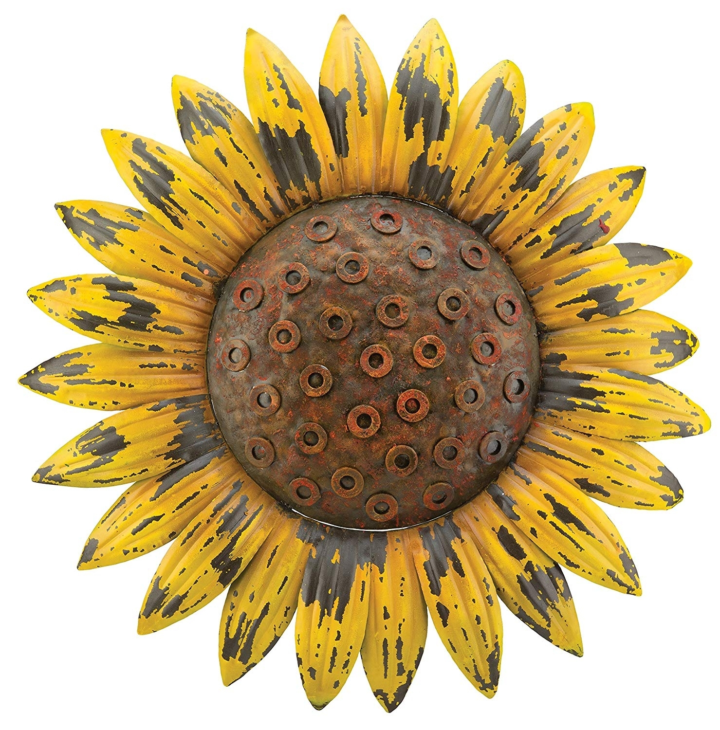 Amazon: Regal Art & Gift Rustic Flower Wall Decor, Sunflower inside Sunflower Wall Art (Image 2 of 20)