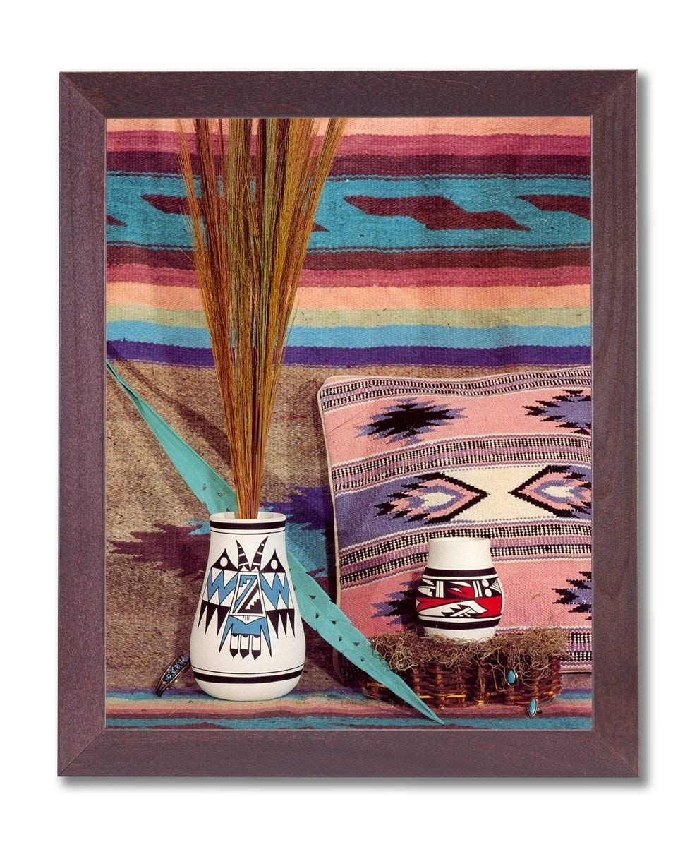 Amazon: Southwestern Native American Indian Pottery Picture Within Native American Wall Art (View 14 of 20)