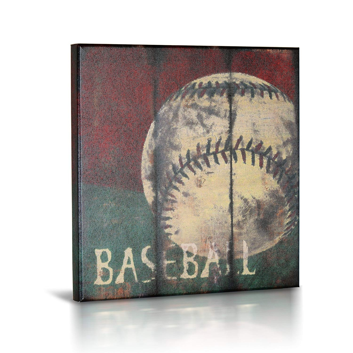 Amazon: Sports Themed Canvas Wall Art | Boys Bed Room Décor Throughout Sports Wall Art (View 17 of 20)