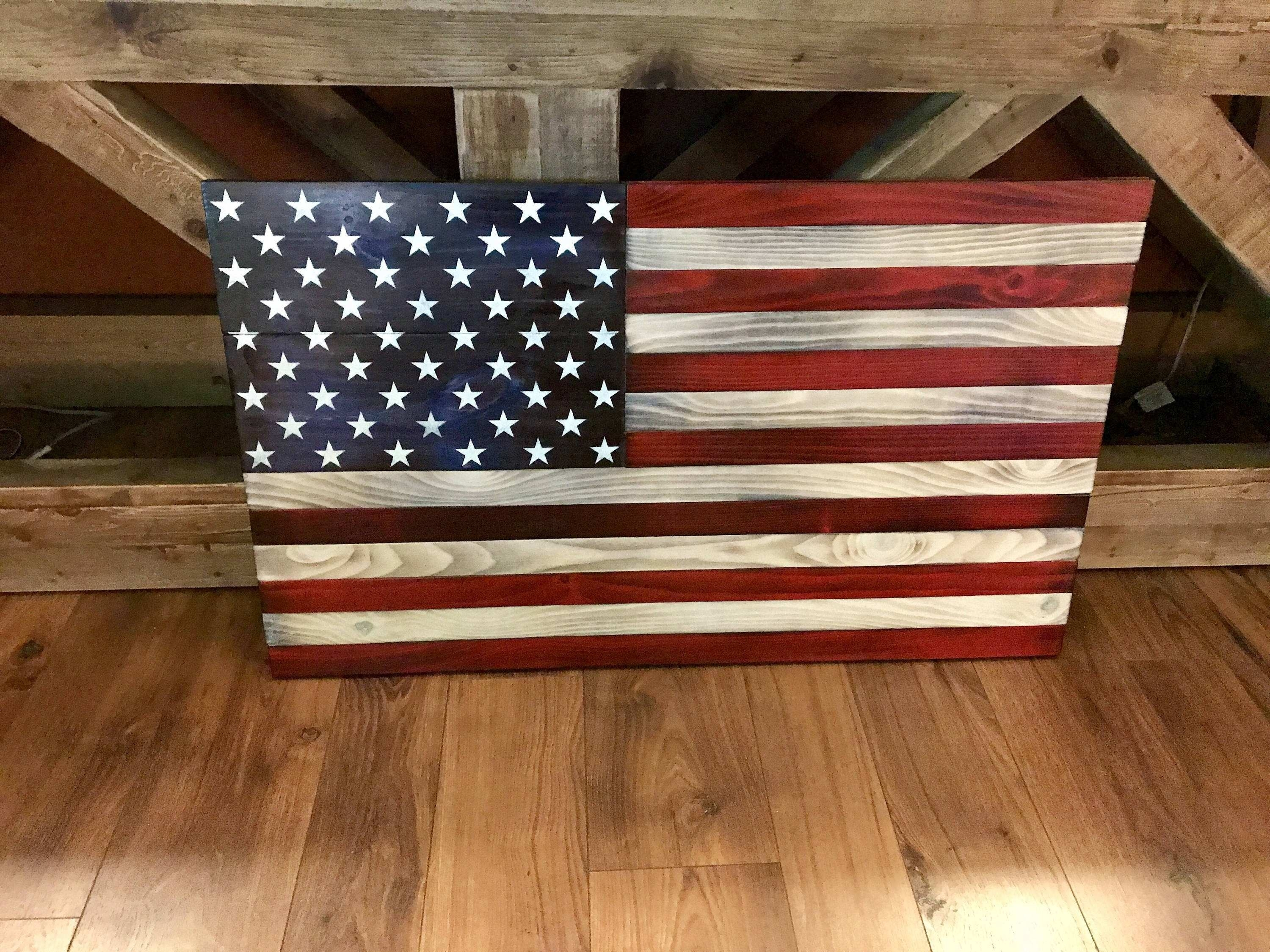American Flag Canvas Wall Art Fresh American Flag Wall Decor Awesome Throughout Rustic American Flag Wall Art (View 13 of 20)
