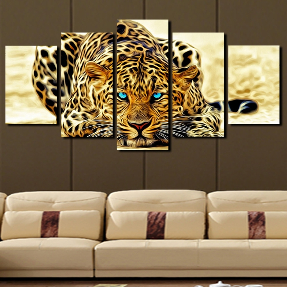 Animal Canvas Wall Art - Elitflat with Animal Canvas Wall Art (Image 10 of 20)
