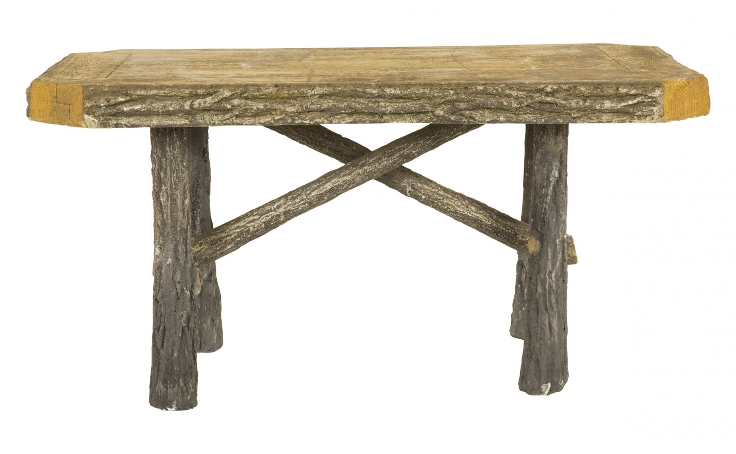 Antique Faux Bois Table | Jayson Home throughout Faux Bois Coffee Tables (Image 4 of 30)