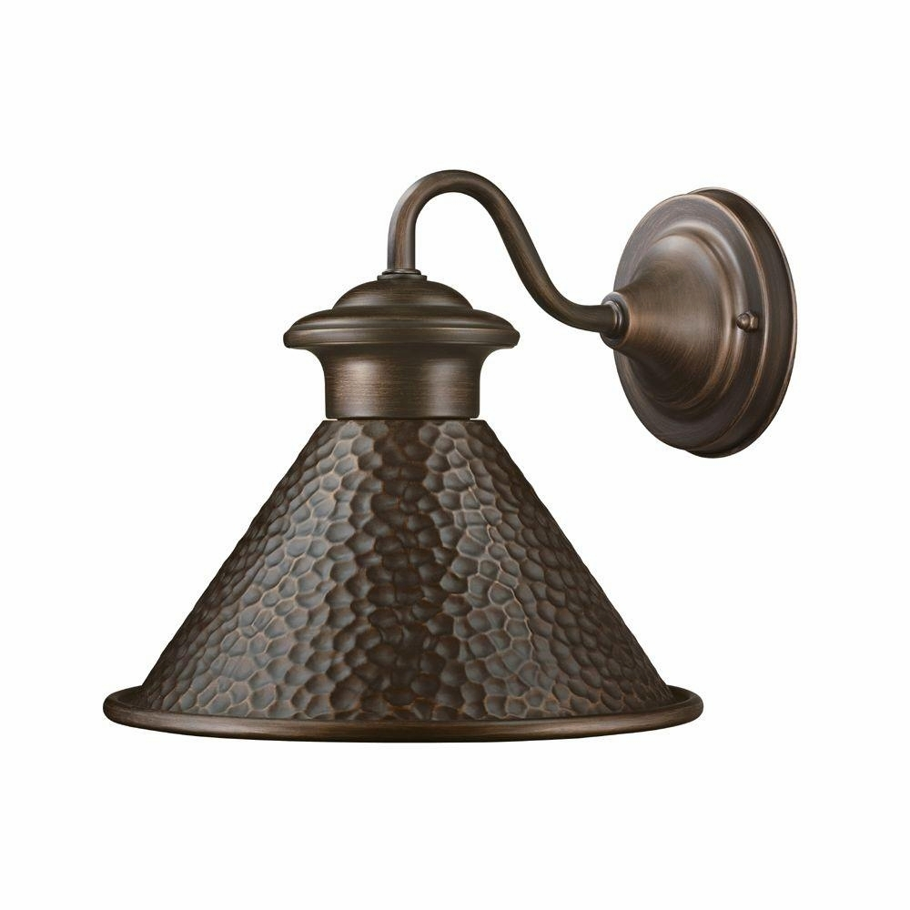 Antique Outside Lights Copper Home Decorators Collection Outdoor inside Outdoor Lanterns And Sconces (Image 1 of 20)