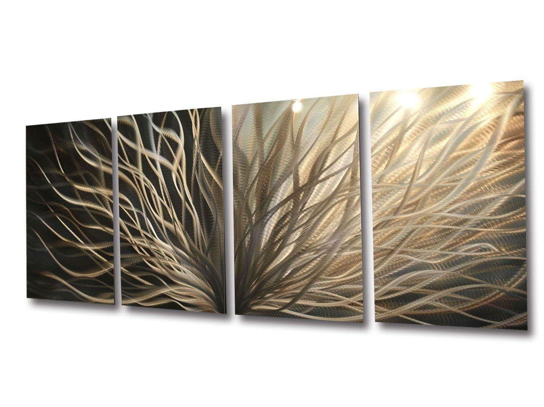 Appealing Contemporary Metal Wall Art Sculptures Touch Of Class regarding Cheap Metal Wall Art (Image 2 of 20)