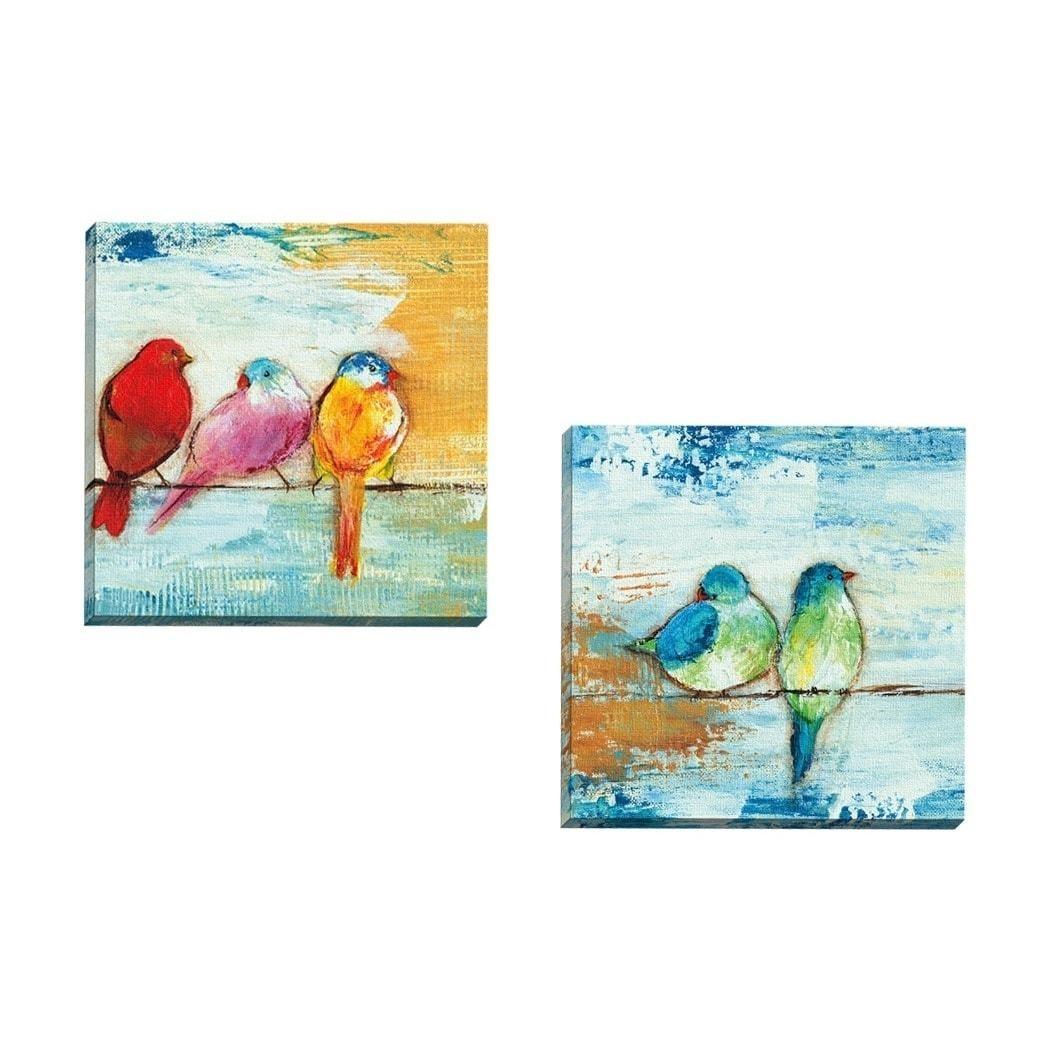 Appealing Havenside Home Piece Portfolio Usong Ii U Framed Canvas intended for Bird Framed Canvas Wall Art (Image 7 of 20)
