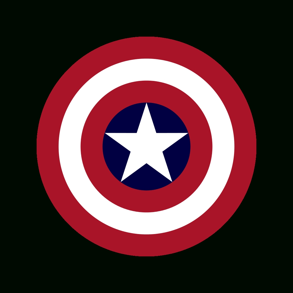 April Picks: Marvel Captain America, Wall Art And More | Clock regarding Captain America Wall Art (Image 3 of 20)