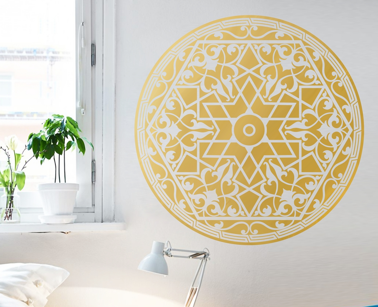 Arabic Pattern – Your Decal Shop | Nz Designer Wall Art Decals throughout Arabic Wall Art (Image 8 of 20)