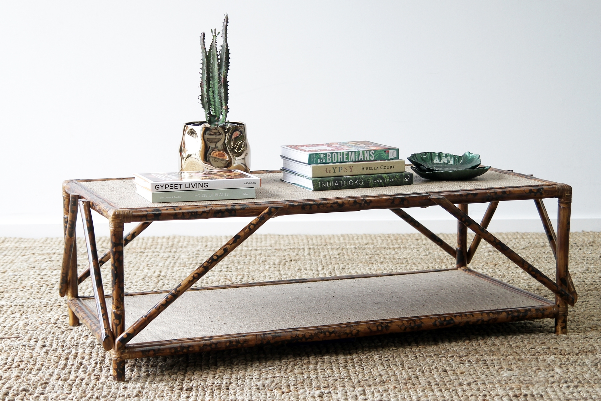 Argyle Coffee Table | Naturally Cane Rattan And Wicker Furniture throughout Cacti Brass Coffee Tables (Image 4 of 30)
