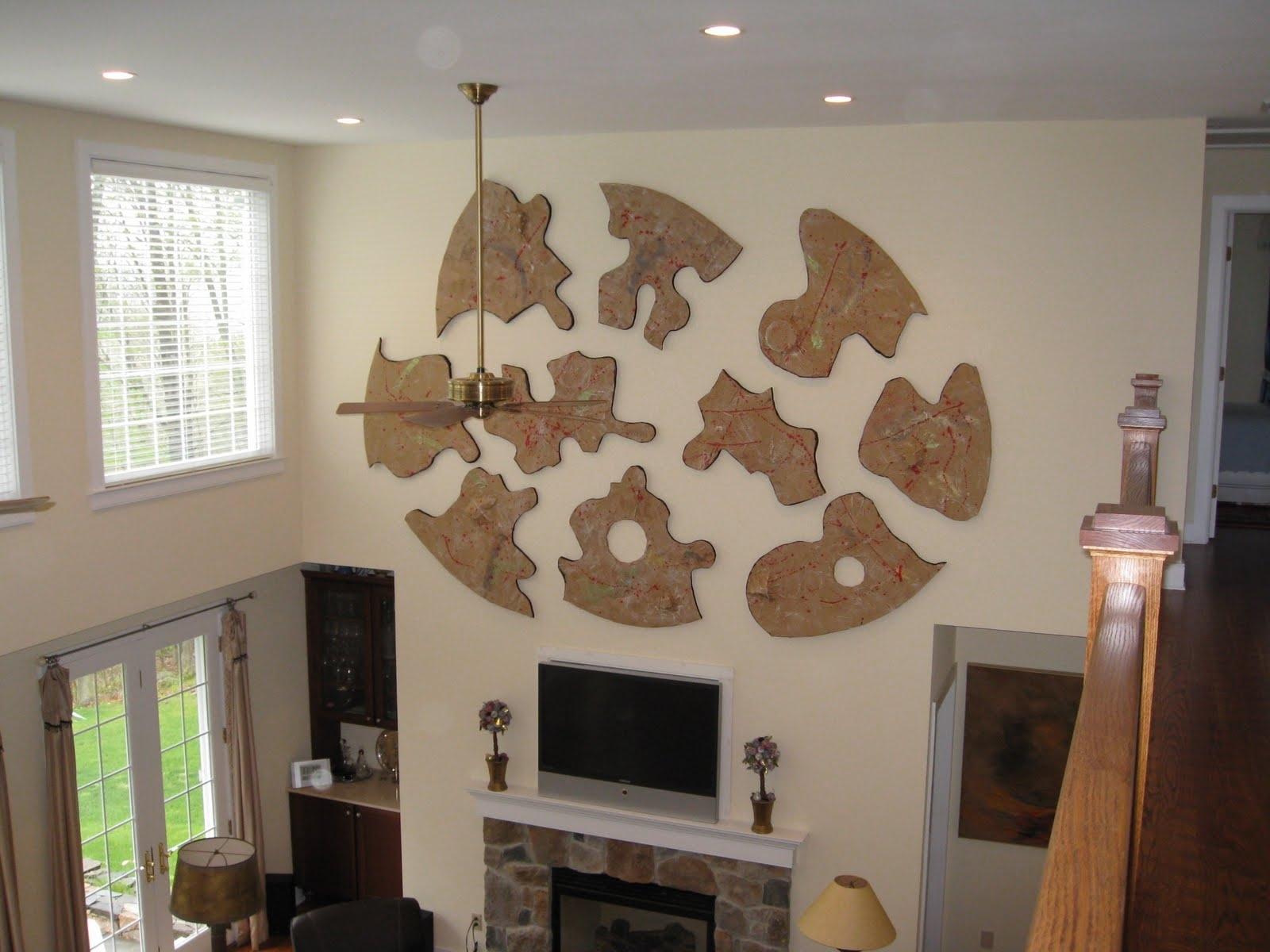 Art Angel: Big Wall Art: Puzzle in Big Wall Art (Image 4 of 20)