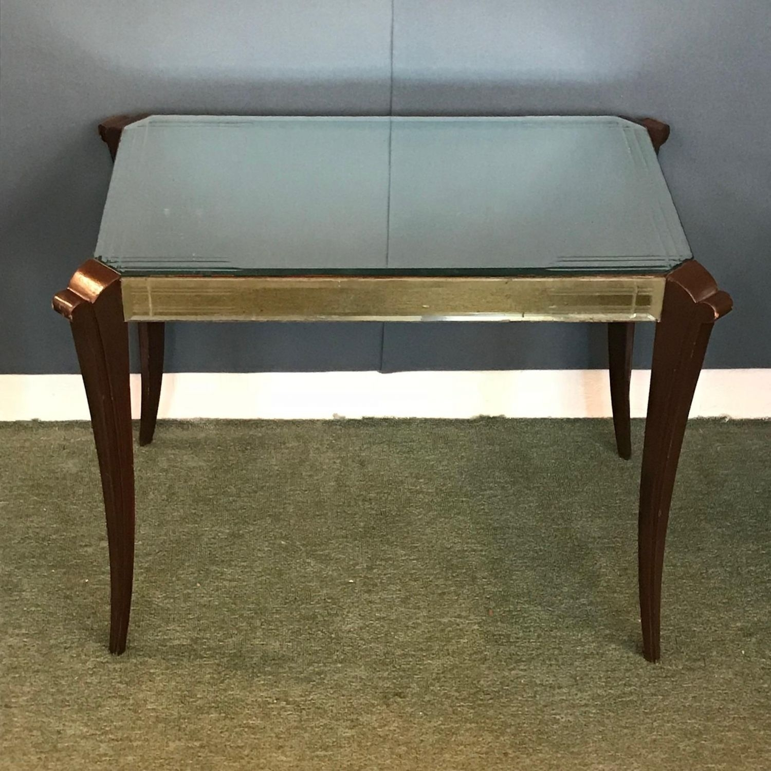 Art Deco 1930S Mirrored Coffee Table - Furniture Etc - Hemswell with regard to Antiqued Art Deco Coffee Tables (Image 10 of 30)