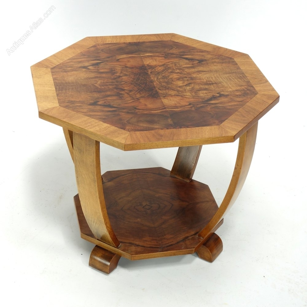 Art Deco Coffee Side Table C1930. - Antiques Atlas with Antiqued Art Deco Coffee Tables (Image 12 of 30)