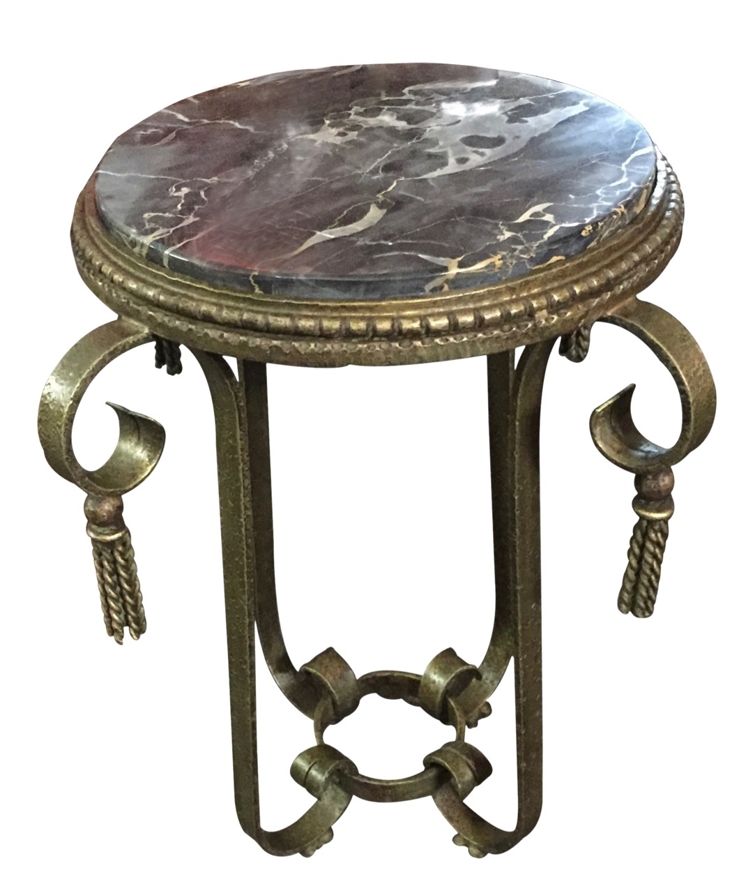 Art Deco Furniture For Sale | Ironwork | Art Deco Collection pertaining to Antiqued Art Deco Coffee Tables (Image 16 of 30)
