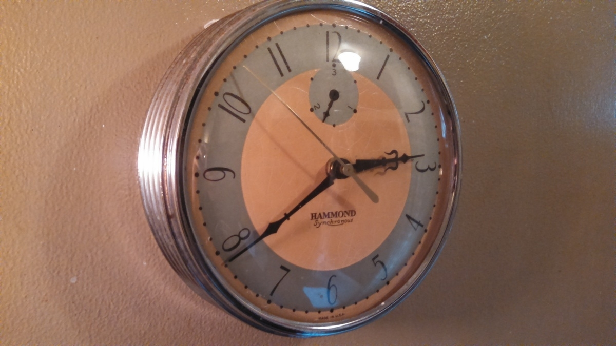 Art Deco Hammond Wall Clock | Collectors Weekly in Art Deco Wall Clock (Image 2 of 20)
