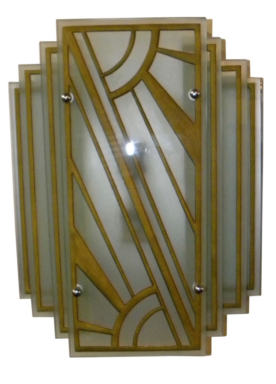 Art Deco Lighting For Sale | Sconces And Wall Lights | Art Deco with Art Deco Wall Sconces (Image 5 of 20)