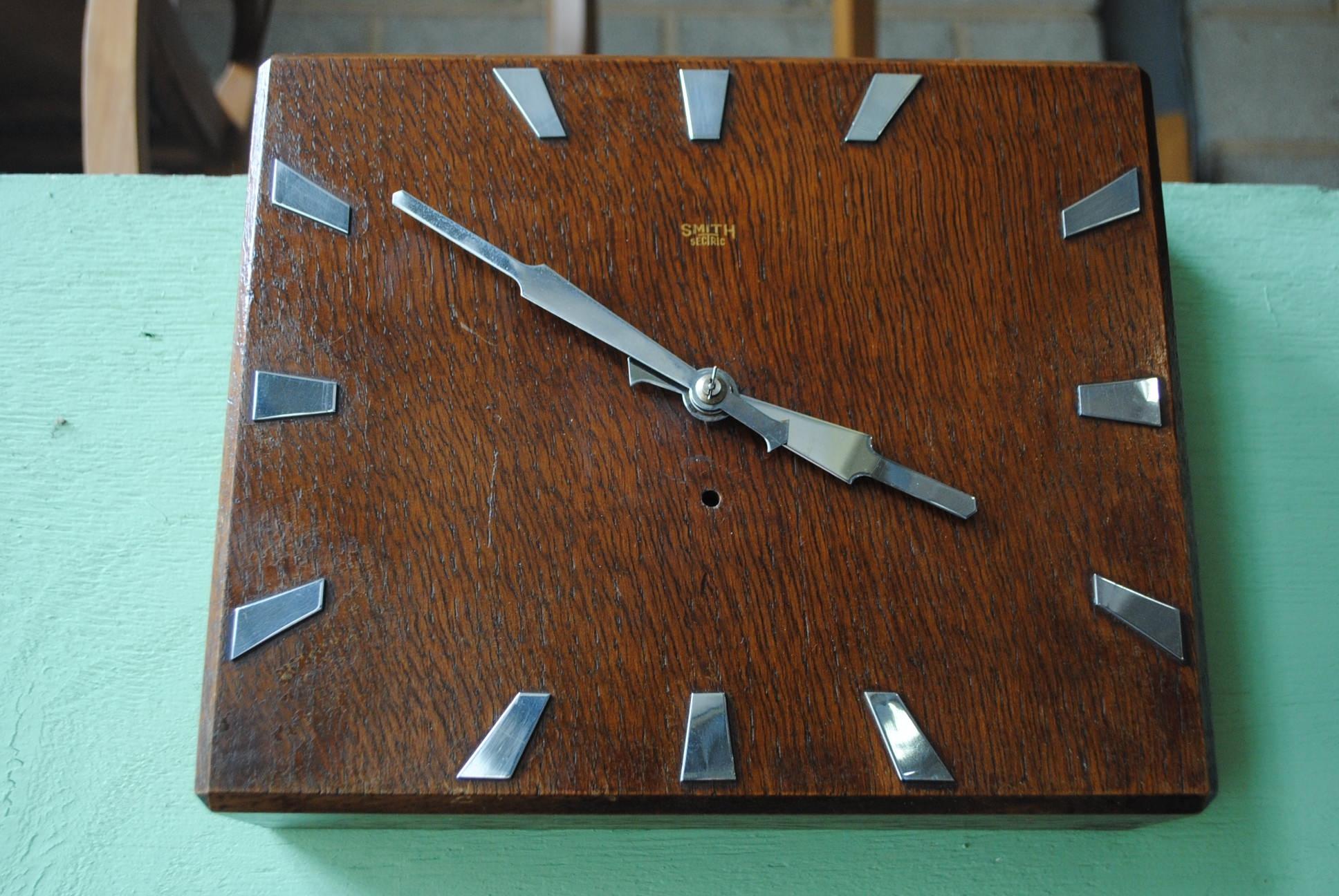 Art Deco Wall Clock || Cloud 9, Art Deco Furniture Sales with regard to Art Deco Wall Clock (Image 7 of 20)