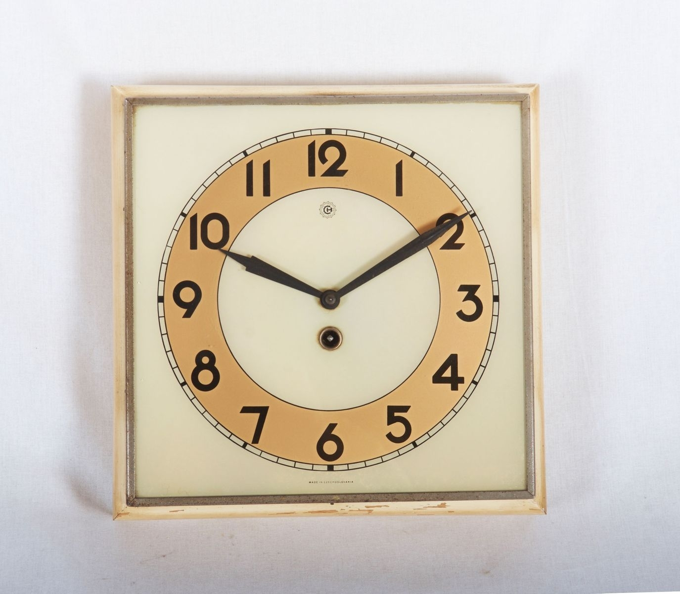 Art Deco Wall Clock From Kienzle International, 1930S For Sale At Pamono in Art Deco Wall Clock (Image 6 of 20)