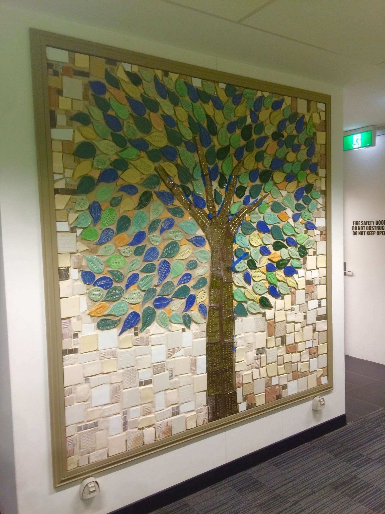 Artfully Walls New Memory Tree Feature Wall • Acw Stud Walls | Wall in Artfully Walls (Image 8 of 20)