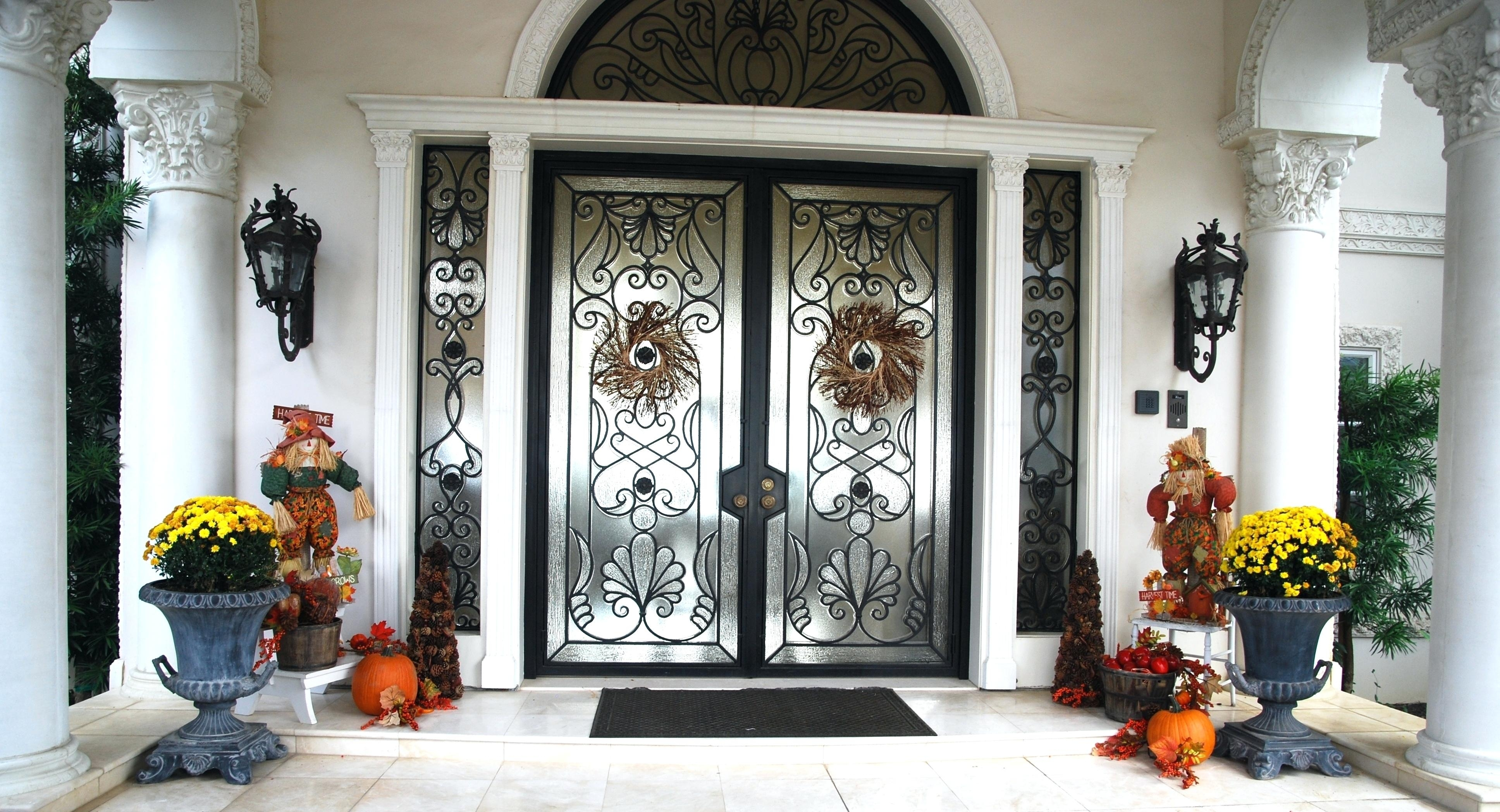 Articles With Front Door Lighting Design Tag: Impressive Front Door in Outdoor Door Lanterns (Image 3 of 20)