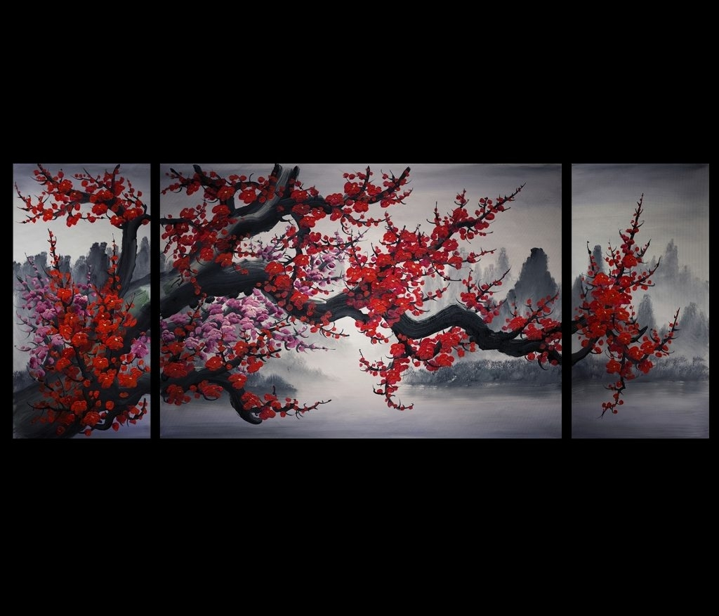 Asian Wall Art - Home Design And Wall Decoration Ideas intended for Asian Wall Art (Image 4 of 20)