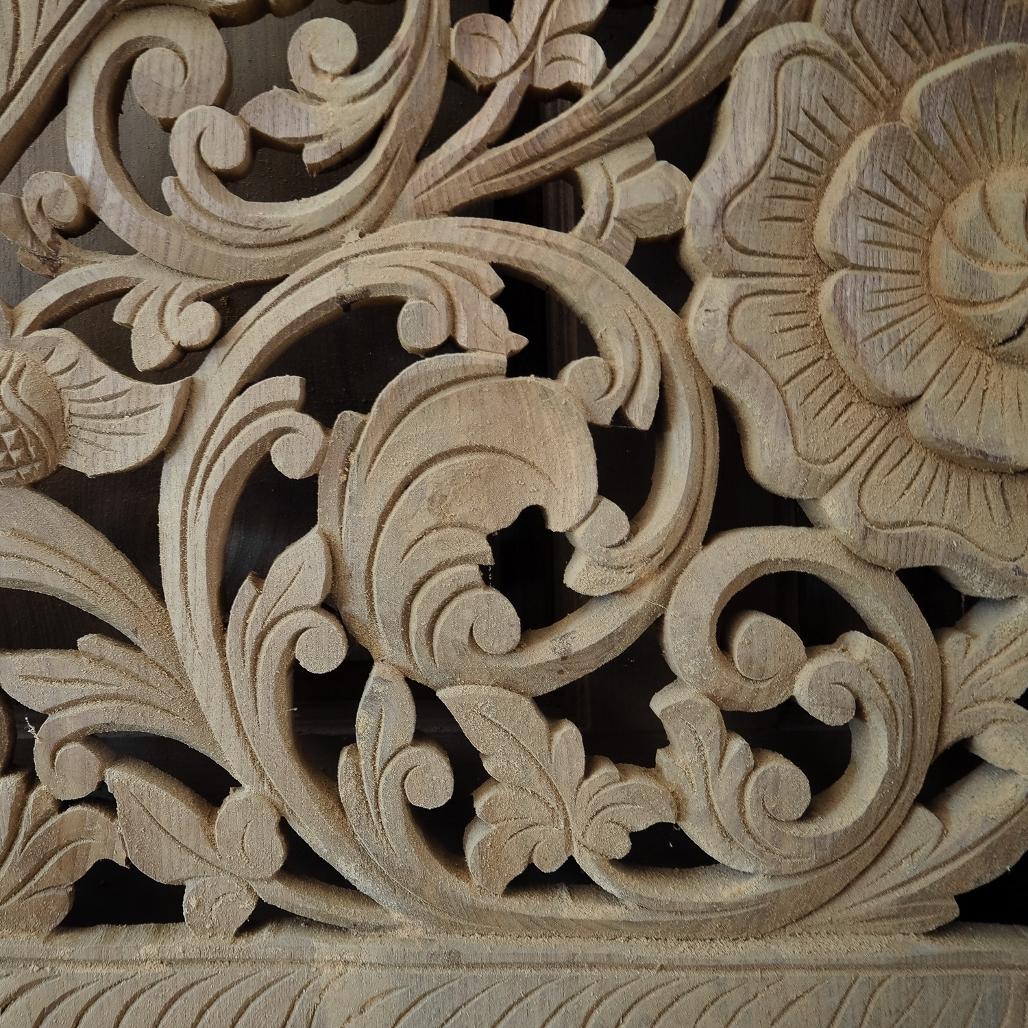Asian Wood Carvings Wall Art Buy Carved Bed Panel Oriental Wall Art Throughout Oriental Wall Art (View 4 of 20)