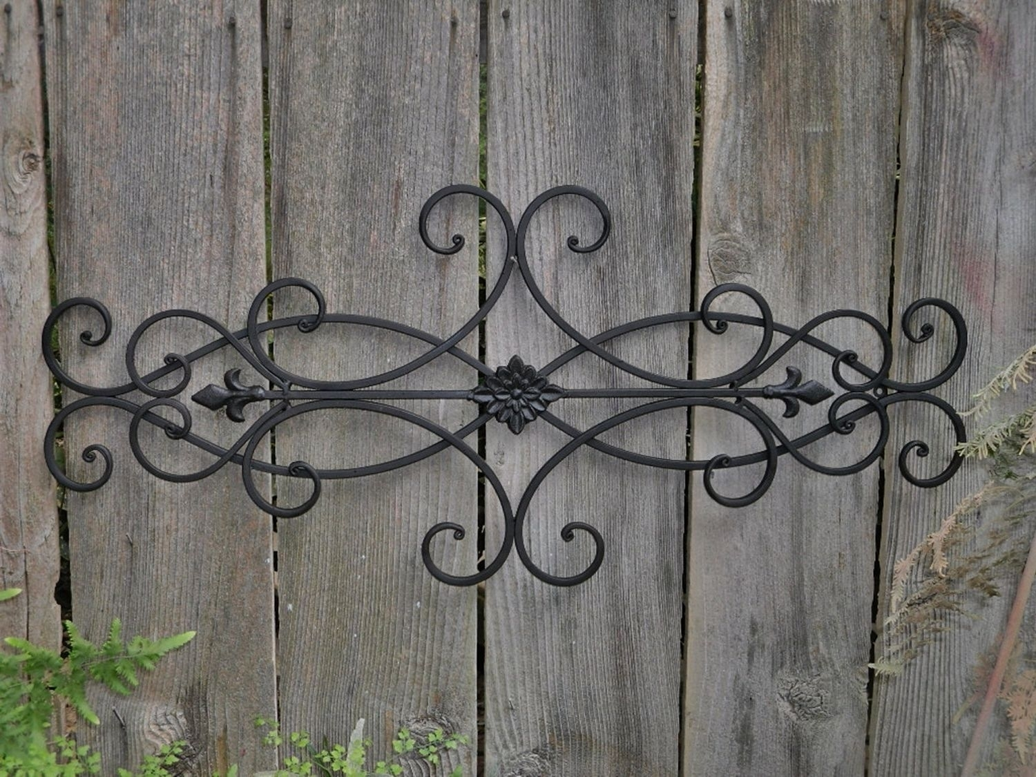 Astonishing Collection Of Large Wrought Iron Wall Art Pict For And intended for Iron Wall Art (Image 4 of 20)