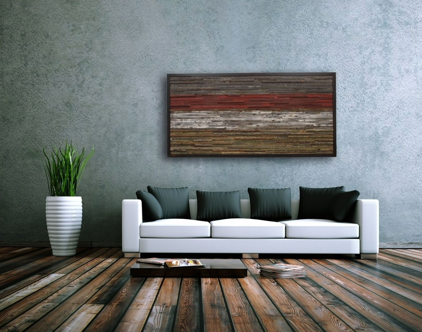 Astonishing Strikingly Ideas Large Rustic Wall Art With Metal in Large Rustic Wall Art (Image 4 of 20)
