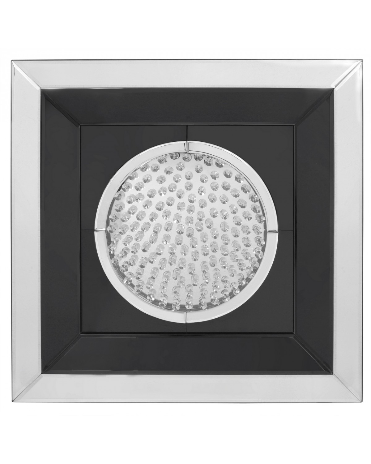 Astoria Black Mirror Medium Circle Wall Art | Cimc Home Inside Circle Wall Art (View 3 of 20)