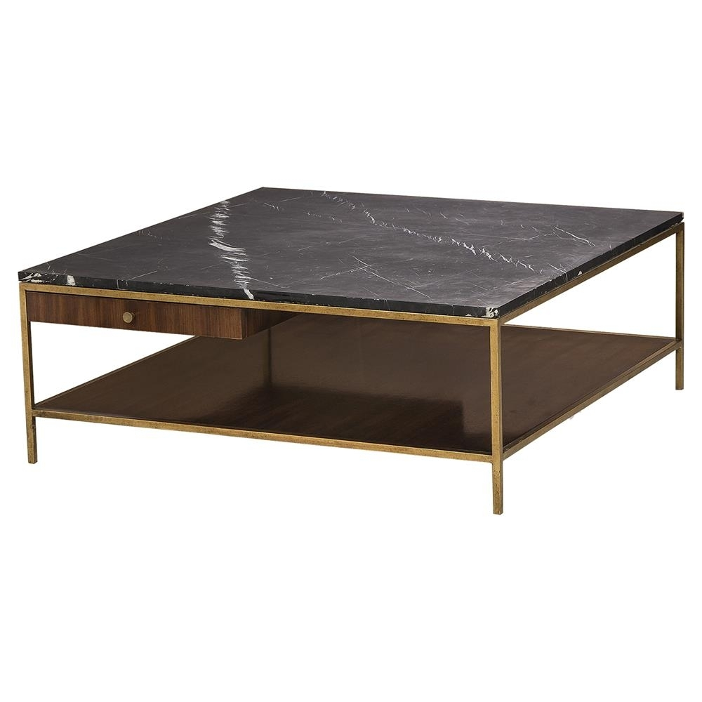 Attractive Marble Top Coffee Table Pertaining To Resource Decor throughout Modern Marble Iron Coffee Tables (Image 2 of 30)
