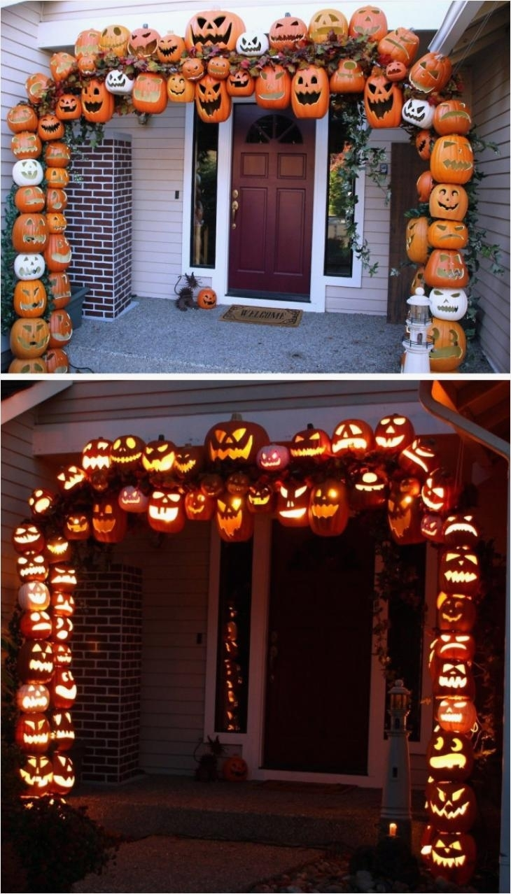 Awesome Halloween Outdoor Decorations Pinterest | Interior-Magazine for Outdoor Halloween Lanterns (Image 6 of 20)